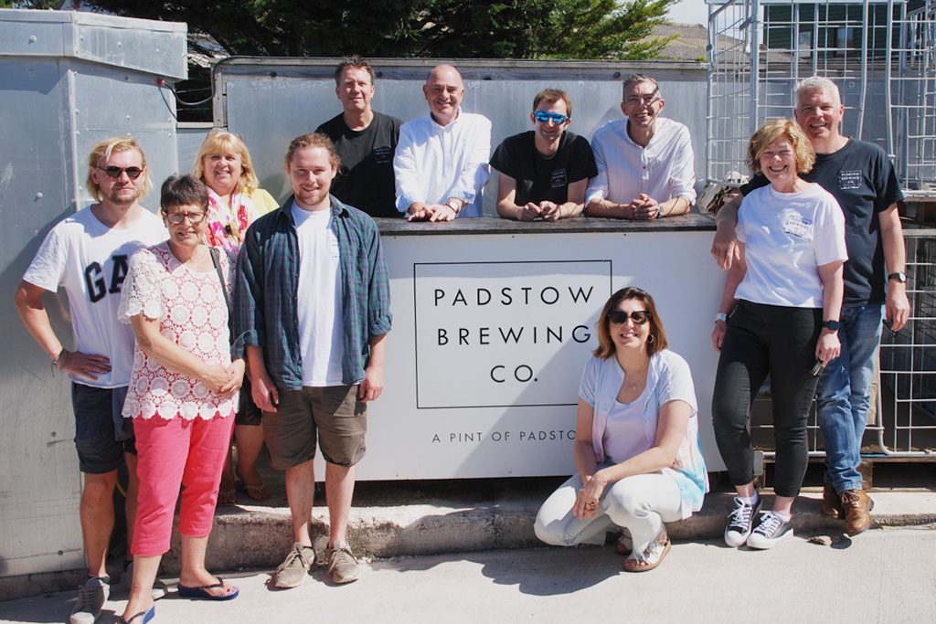 Padstow Brewery Team