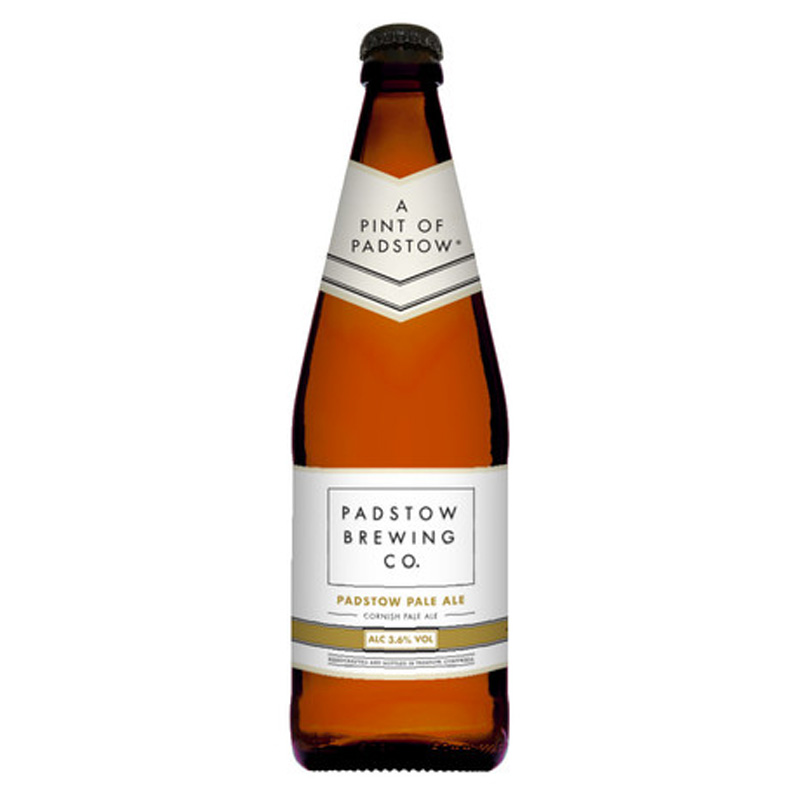 Padstow Pale Ale - Light Golden Ale 3.6%