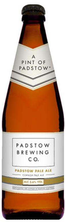 Padstow Pale Ale Bottle