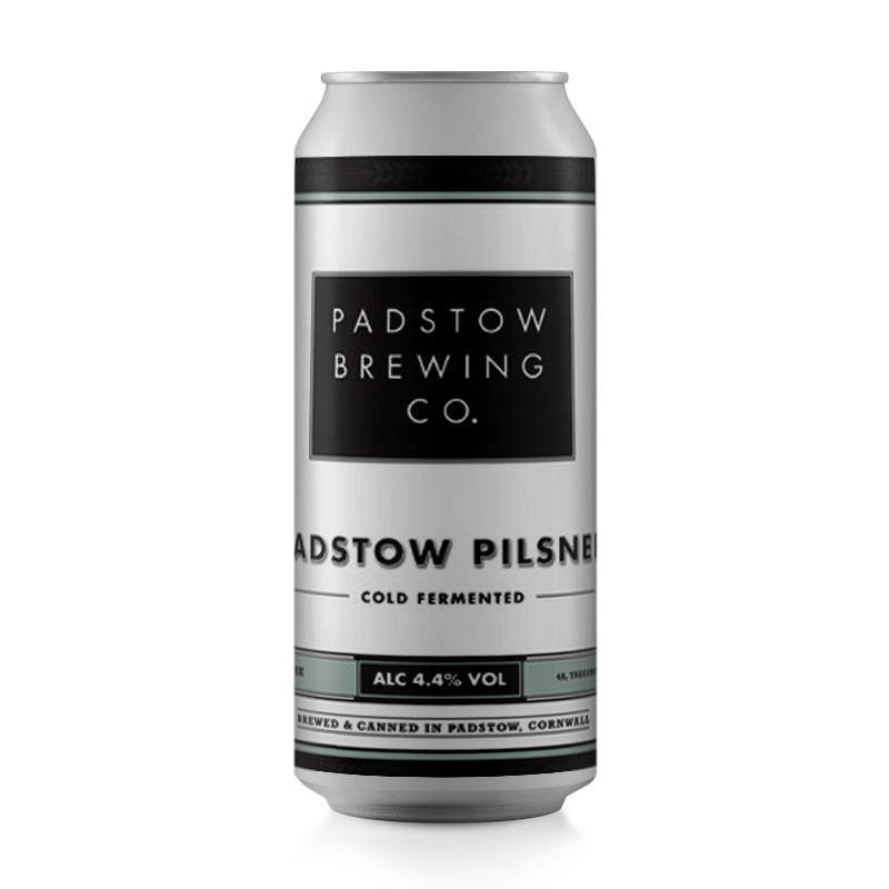 Padstow Pilsner - A refreshing, crisp Pilsner 4.4%