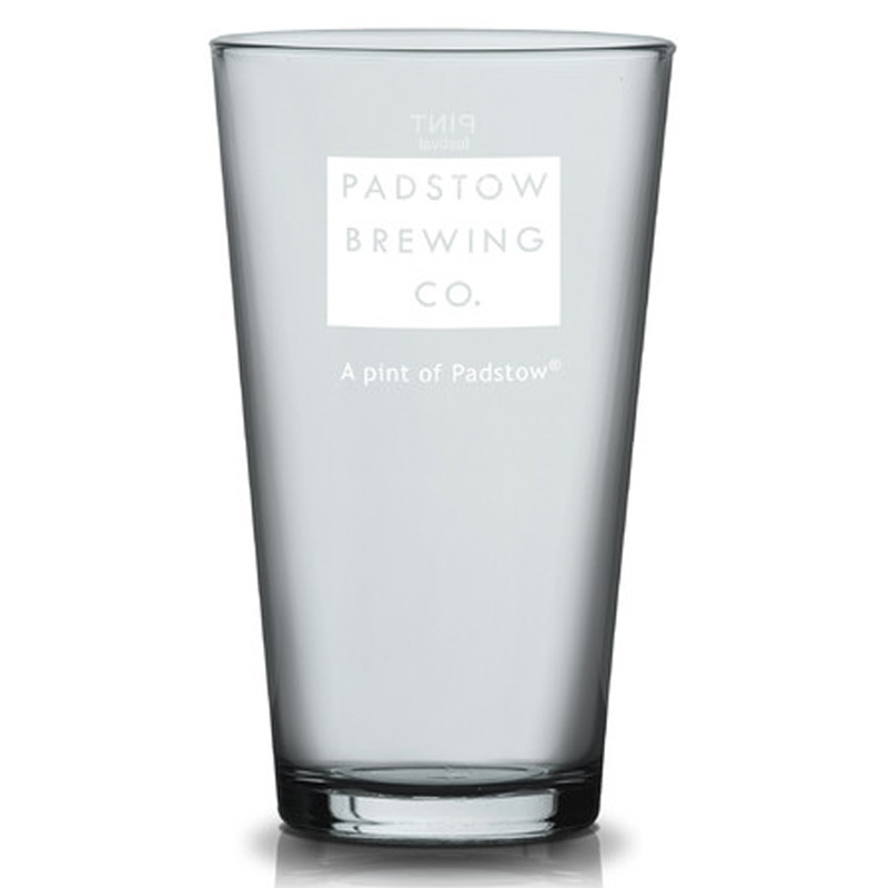 Padstow Pint Glass - Classic Ale glass