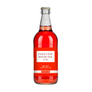 Padstow Red Sky Cornish Berry Cider Bottle