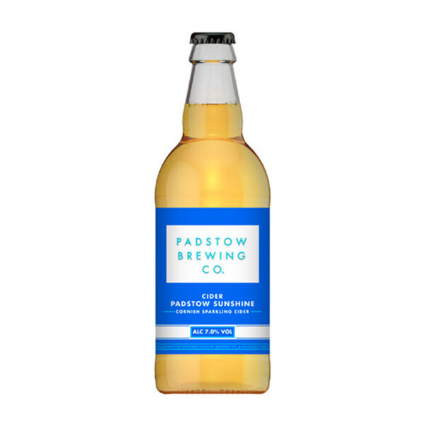 Padstow Sunshine Cider Bottle