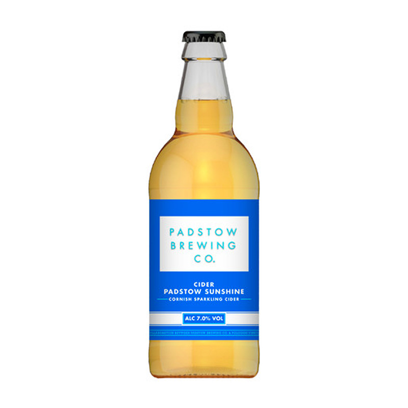 Padstow Sunshine Cider - Cornish Sparking Cider