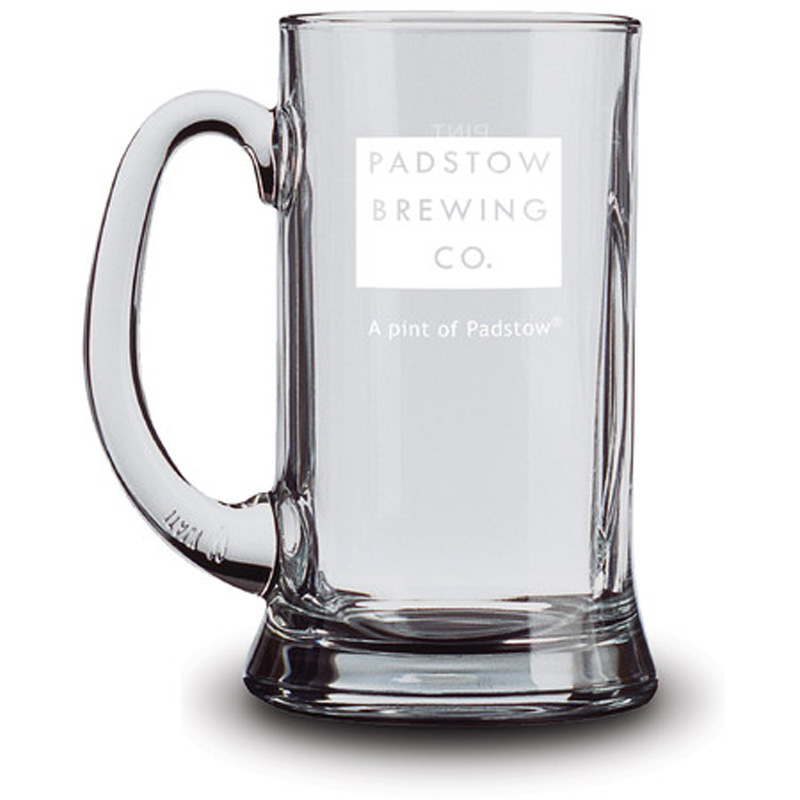 Padstow Tankard Glass - Traditional heavy jug-style