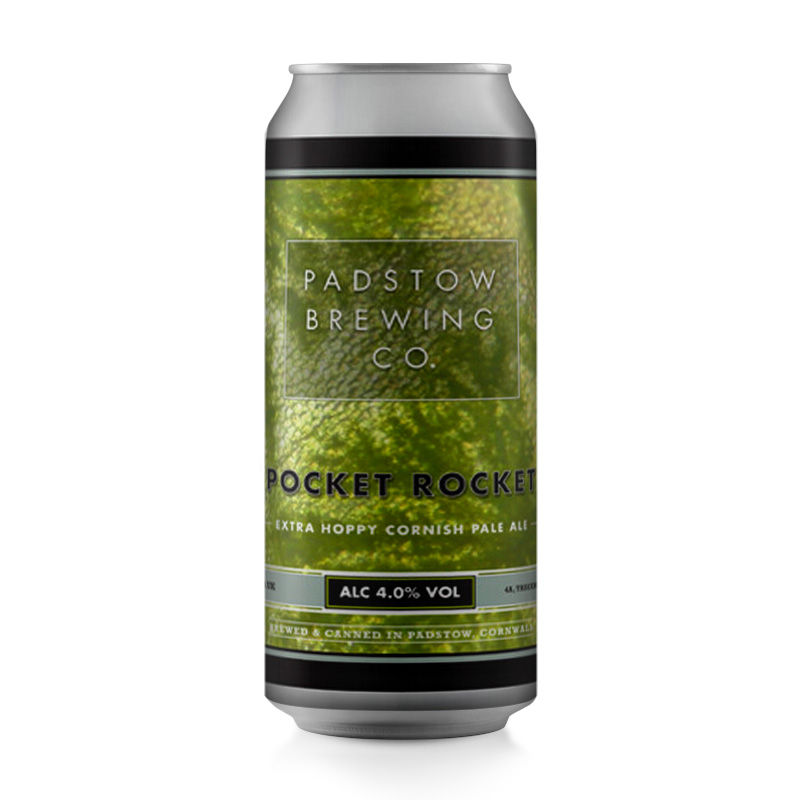Pocket Rocket - Extra hoppy Cornish Pale Ale 4.0%