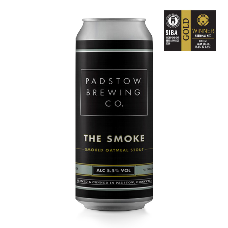 The Smoke - Smoked oatmeal stout 5.5%