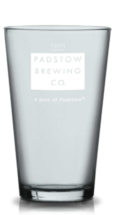 Padstow Pilsner Glass - Tall and classically styled