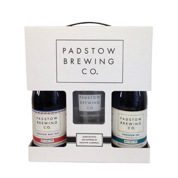 Padstow Brewing Co Beer And Glass Gift Pack