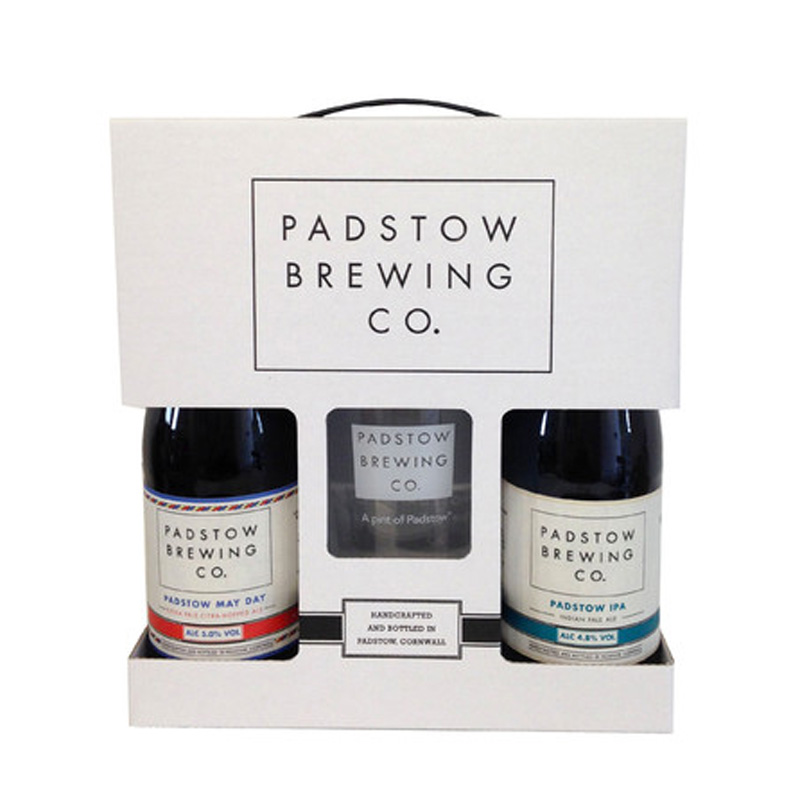 Beer and Glass Gift Pack - The ideal gift for beer lovers