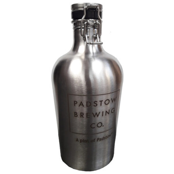 Padstow Brewing Co Stainless Steel Growler