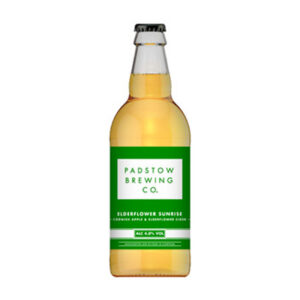Padstow Elderflower Sunrise Cider Bottle