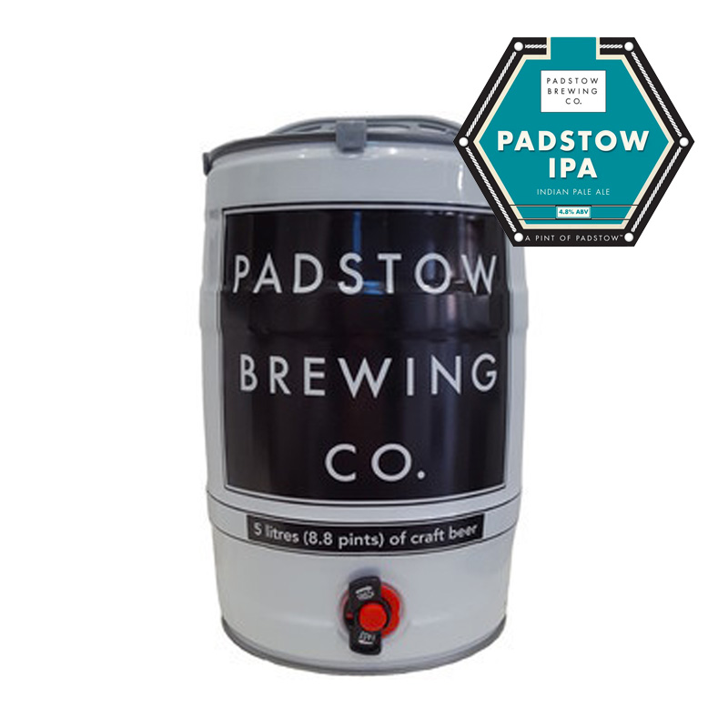 Mini Keg Padstow IPA - India Pale Ale 4.8%
