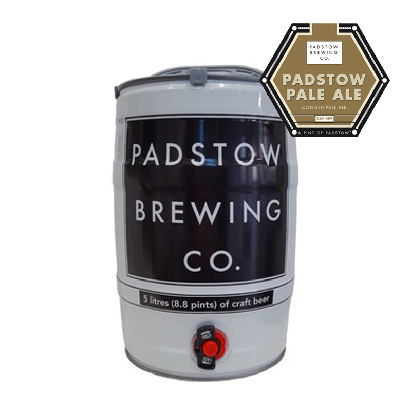 Mini Keg Padstow Pale Ale - LIGHT GOLDEN ALE