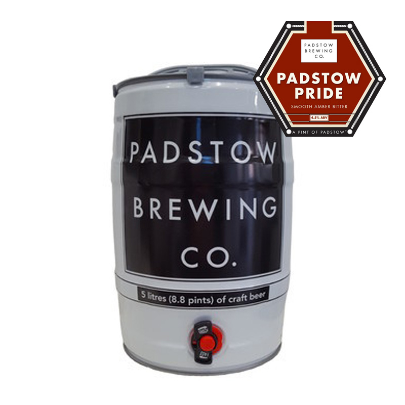 Mini Keg Padstow Pride - SMOOTH AMBER BITTER