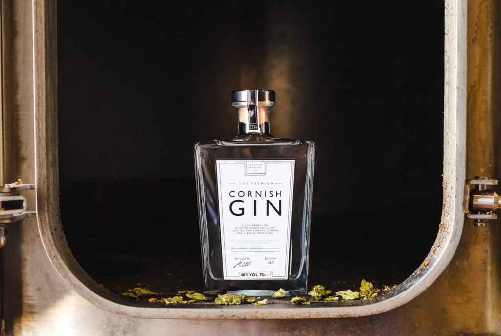 Premium Cornish Gin - Our Unique own-recipe Premium Gin 40%