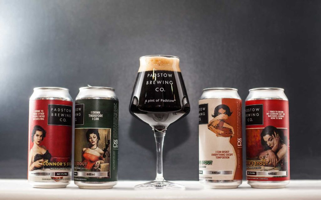 Connor's Stout 4-pack - Imperial Smoked Stout 11%