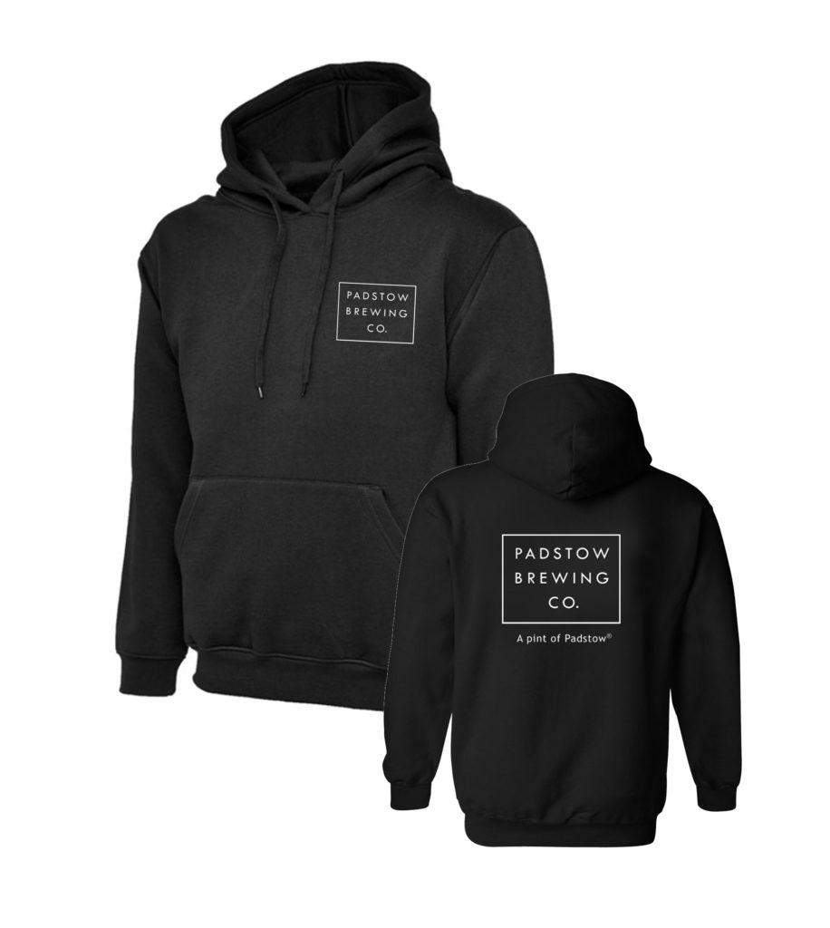 Black Branded PBC Hoody
