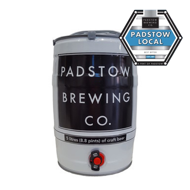 Minikeg – Padstow Local - Our NEW Best Bitter 4.0%