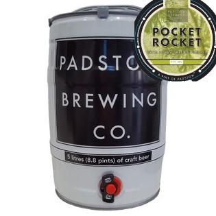 Minikeg – Pocket Rocket - Session IPA 4%