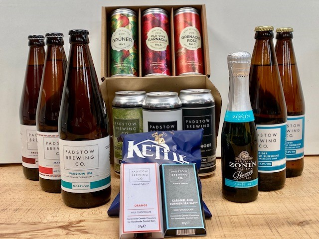 Padstow Tasting Room Christmas In a Box - Everything you love about Padstow Tasting Room, in a box to enjoy at home!
