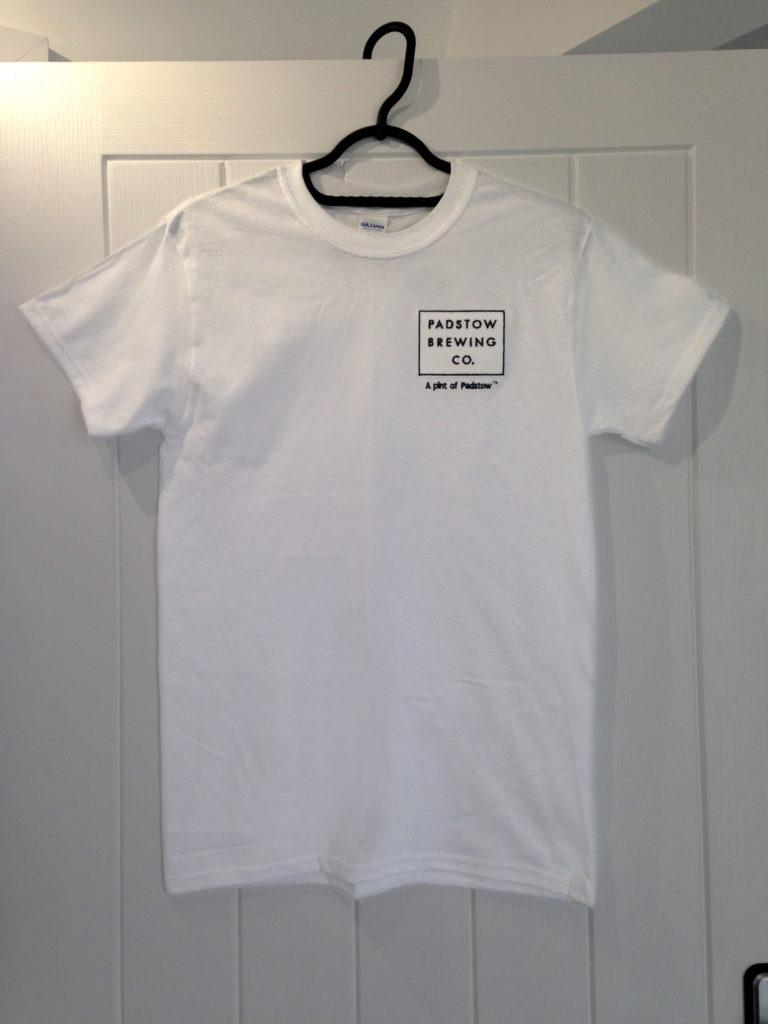 White Branded T-Shirt