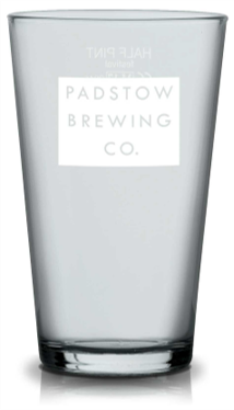 Padstow 1/2 Pint Glass - Classic Ale glass