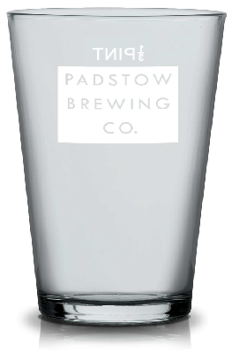 Padstow 1/3 Pint Glass - Classic Ale glass