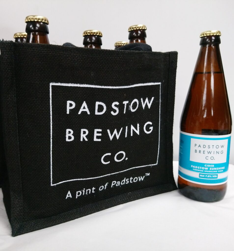 Sunshine Cider Gift Set - 6 pint bottles of Padstow Sunshine