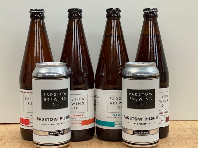 Gluten Free Selection - 6 fantastic Padstow Brewing beers, all gluten free